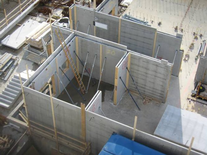 Precast Concrete Basement Walls Part - 48: Twin Wall System To Be Used In