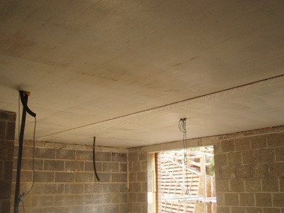 Exposed soffit - Precast concrete stairs