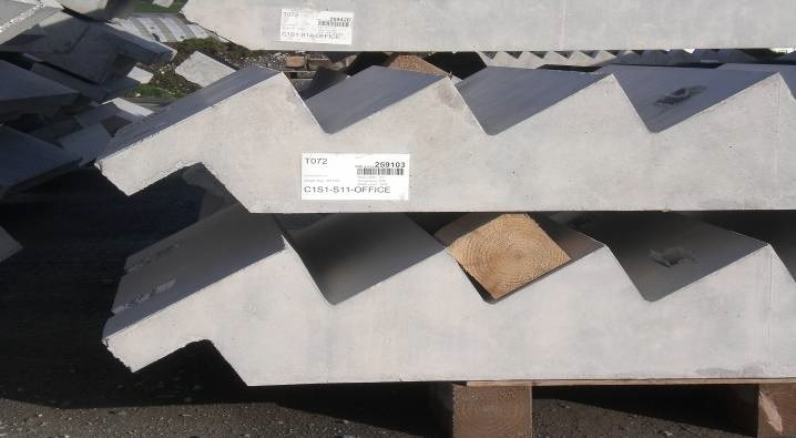 Exchange Building Precast Concrete Stairs