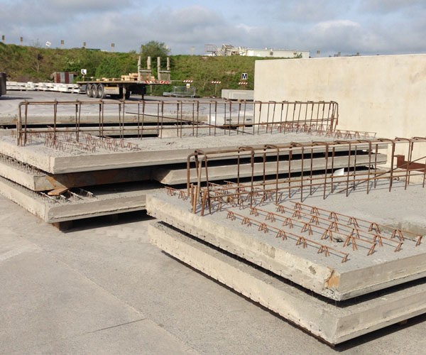 Precast Hollow Core Slab : Quick to install precast hollowcore flooring slab
